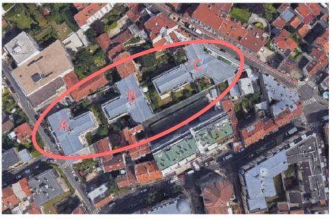 plan de masse rue baillet investissement immobilier periance