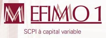 Investir SCPI Efimmo 1 logo
