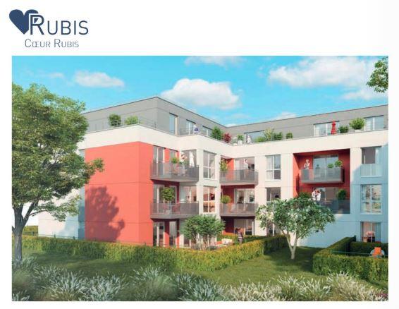 résidence coeur rubis à pontault combault