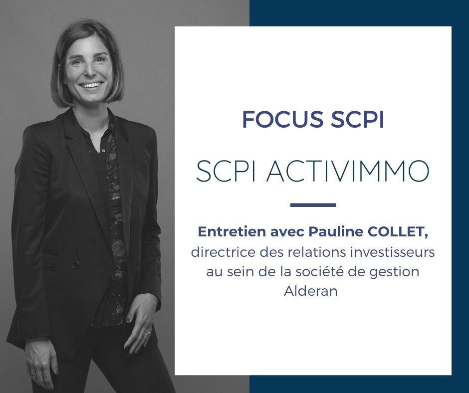 SCPI ACTIVIMMO, previsionnel 2020