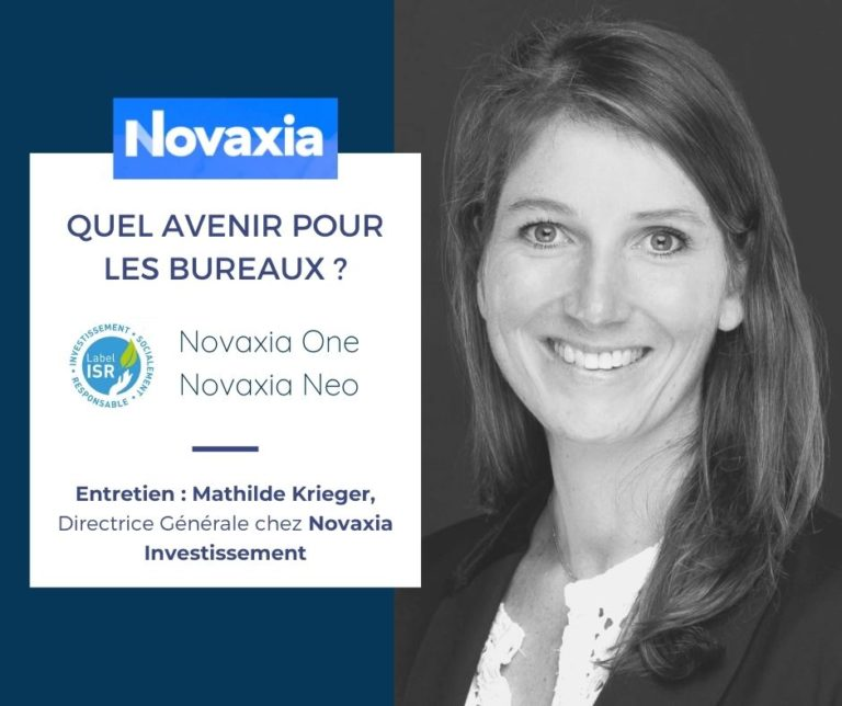 SCPI Novaxia Neo et immobilier PEA Novaxia One