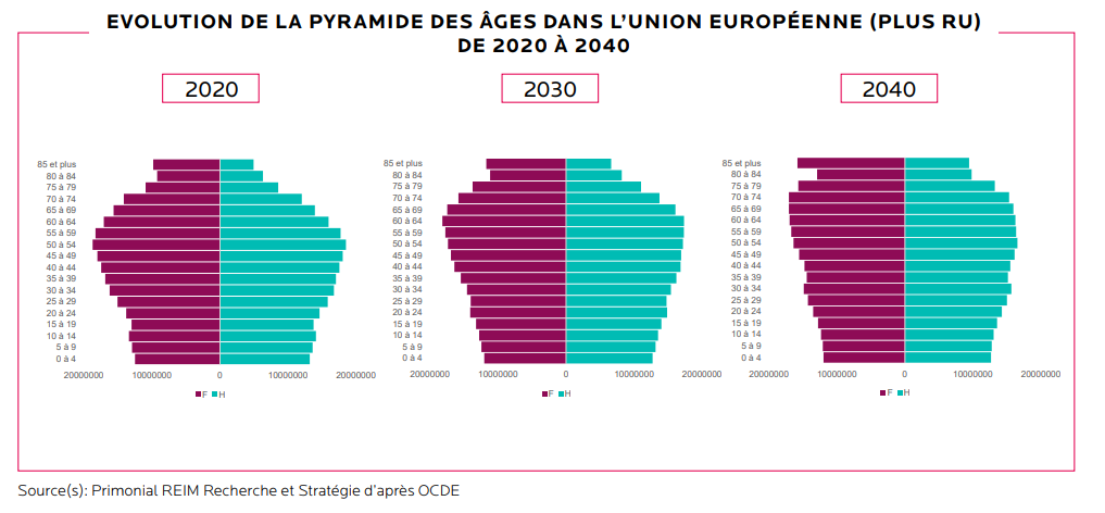 population vieillissante