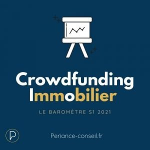 Chiffres clés crowdfunding immobilier semestre 1 2021