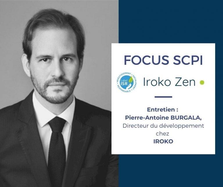 SCPI IROKO Zen interview Pierre-Antoine BURGALA